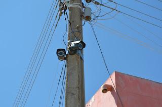 Serra dos Brandões, distrito de Picuí agora é monitorado por câmeras de segurança.