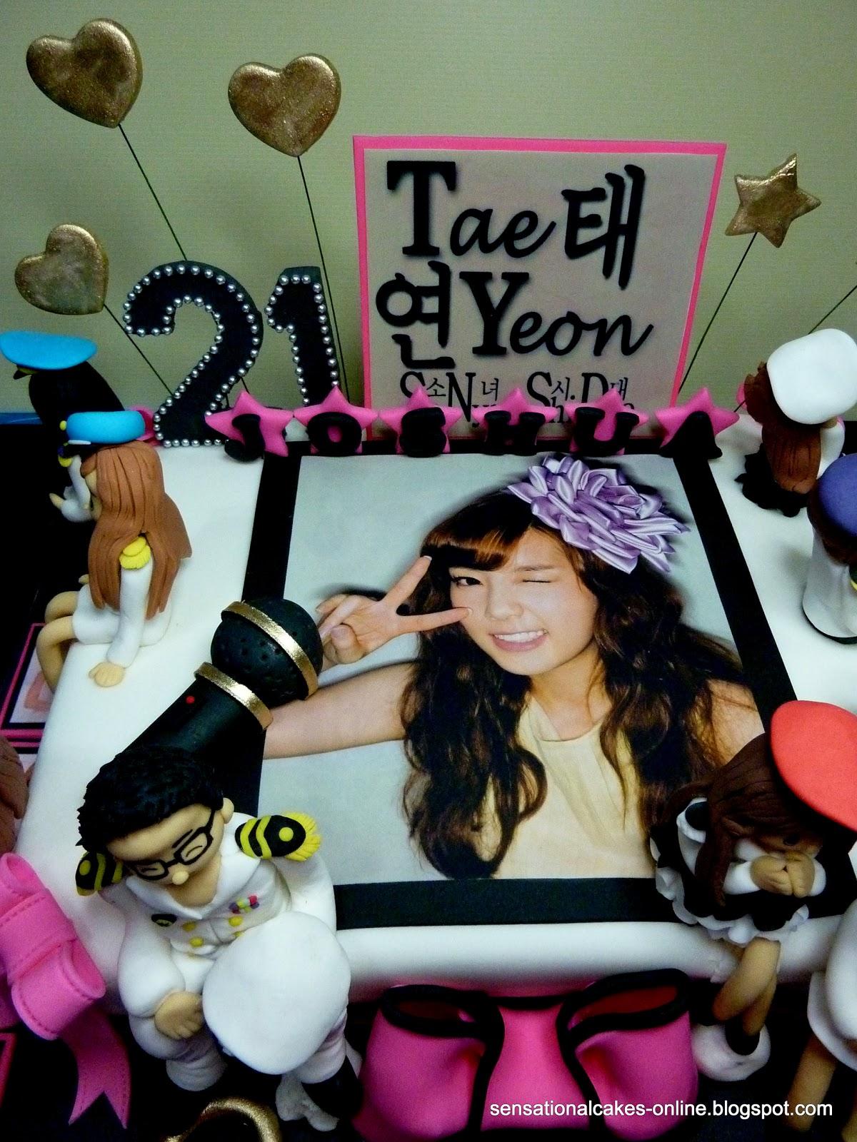 Cakes2share Singapore Girls Generation Cake Singapore