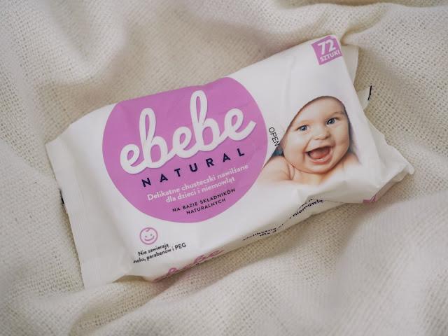naturalne chusteczki nawilżane dla dzieci