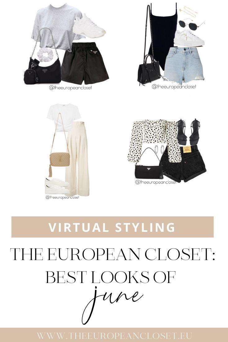 If you're interested in seeing more looks like this, make sure you follow my virtual styling Instagram account @theeuropeancloset