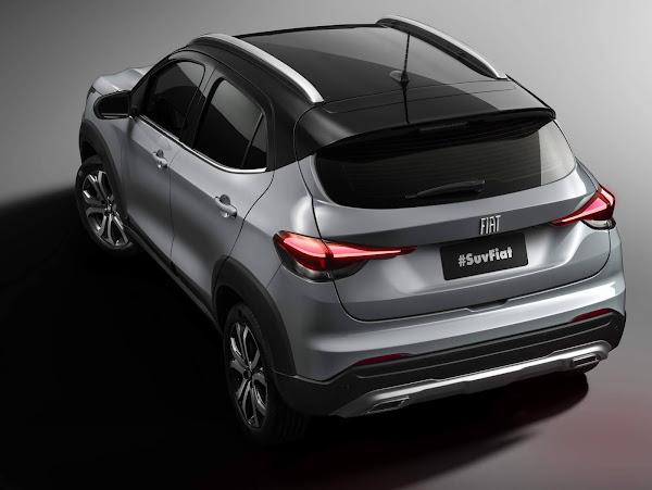 Novo Fiat SUV Progetto 363 tem fotos oficiais reveladas