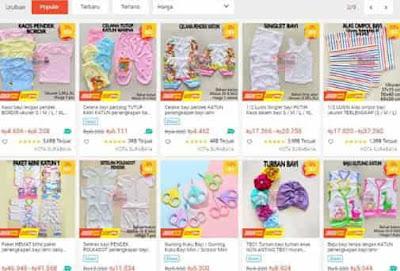 memei baby shop toko perlengkapan bayi shopee