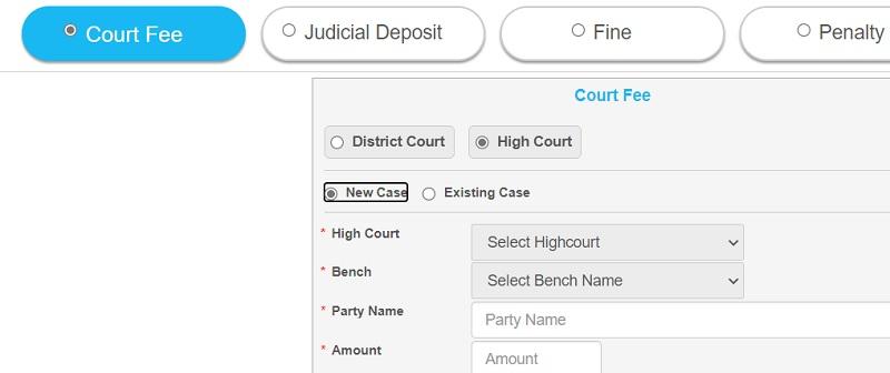 calcutta high court payment