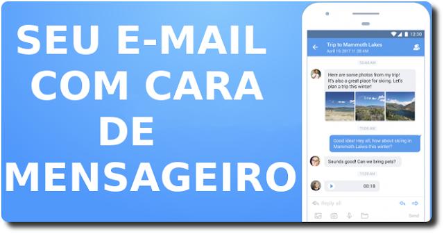Transforme o seu E-mail em um mensageiro - MailTime
