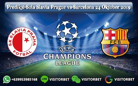 Prediksi Skor Slavia Prague vs Barcelona 24 Oktober 2019