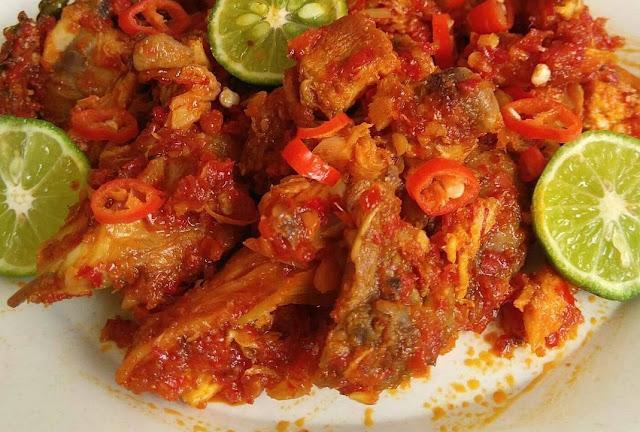 sambal pedas, ayam suwir , masakan ayam , aneka resep ayam , ayam jeletot , ayam lada