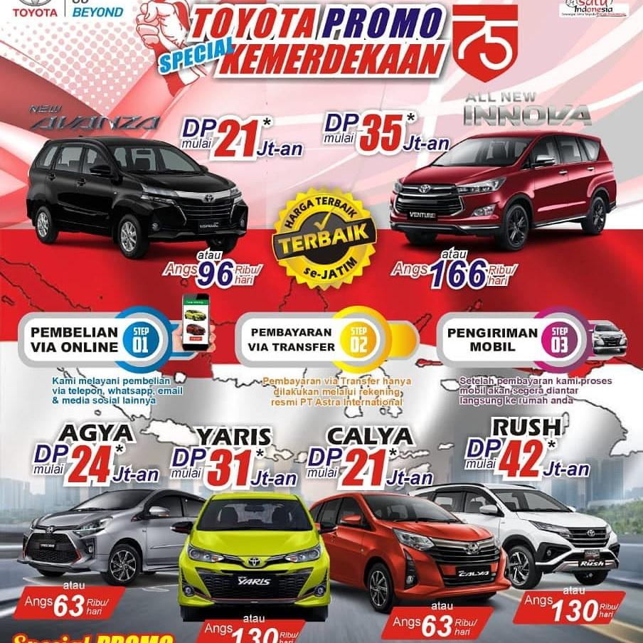 Harga Promo Dealer Toyota Auto2000 Kenjeran Surabaya Harga Promo Dealer