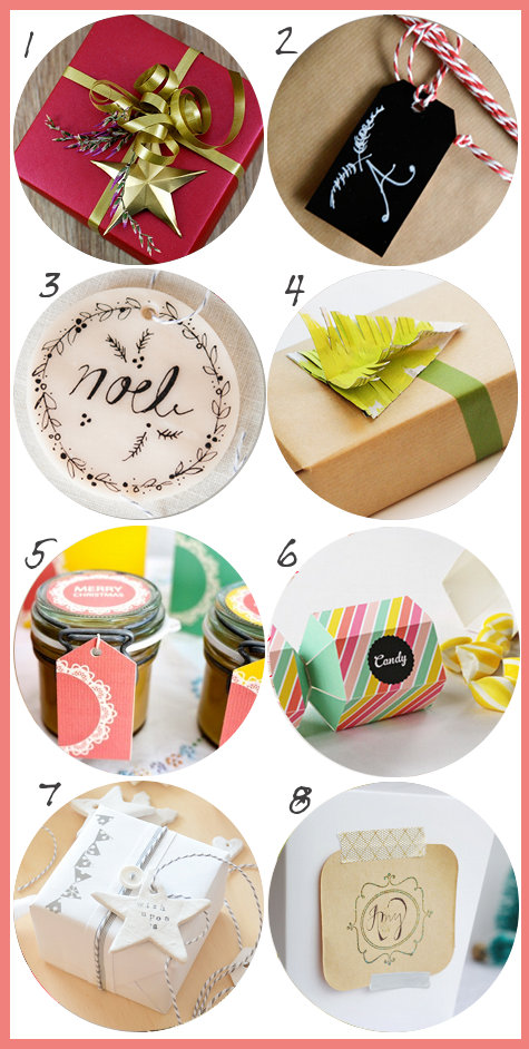 Pretty DIY Christmas Gift Wrap Ideas