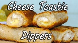 Як зробити сирні крученики з скибок хліба?
