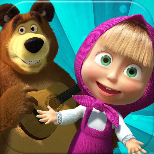 Gambar Film Marsha and the Bear Kartun Lucu HD Terbaru