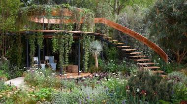 The Winton Beauty of Mathematics Garden. Matemáticas en el jardín y en Chelsea Flower Show