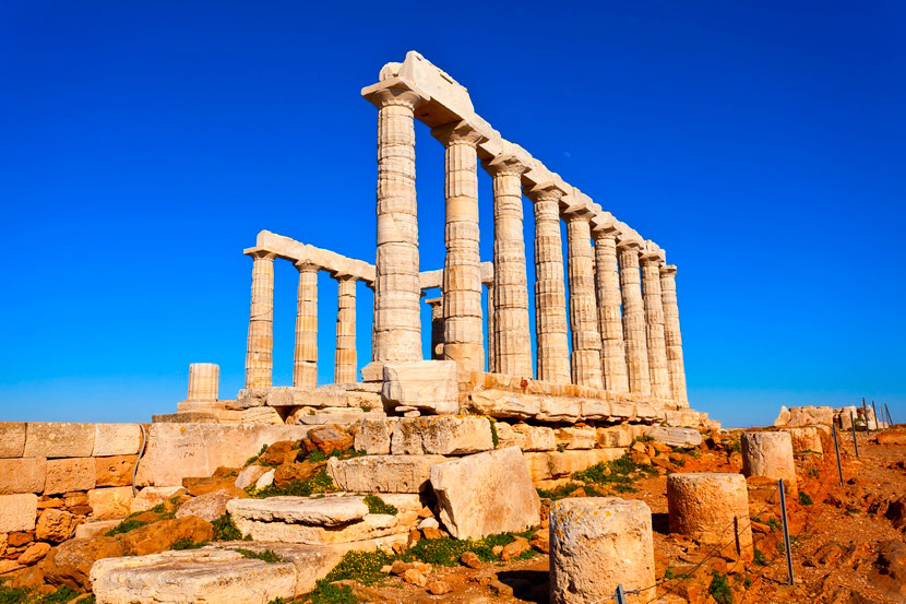 Temple of Poseidon Sounion 8