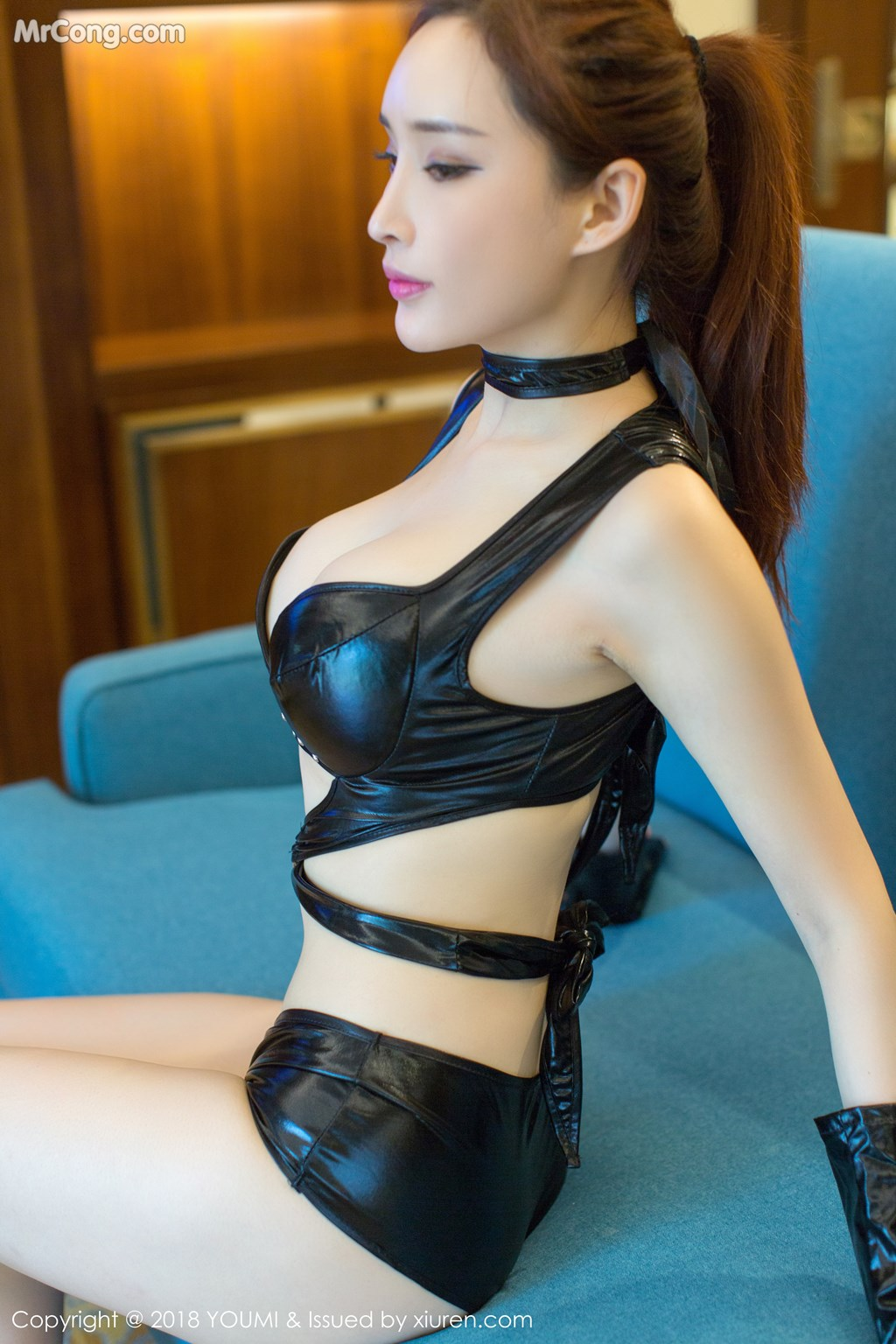 Image YouMi-Vol.118-Tu-Fei-Yuan-Ai-Cuo-Qiong-MrCong.com-005 in post YouMi Vol.118: Người mẫu 土肥圆矮挫穷 (49 ảnh)