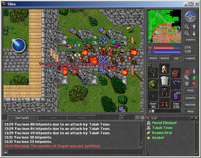 Popular Online 2D Games | Eclipse ORPG Developer Community