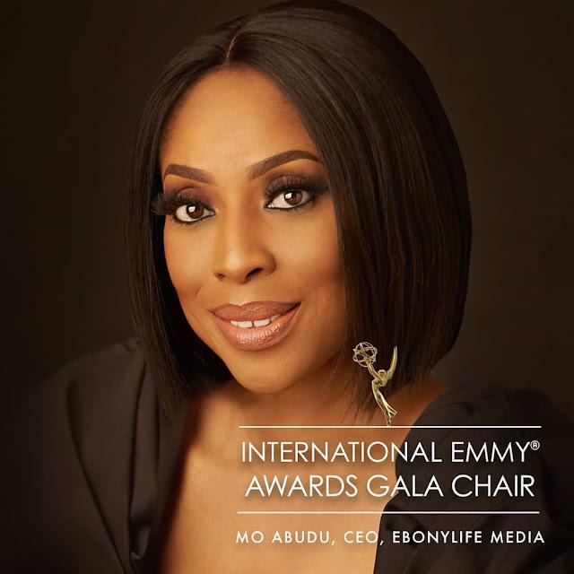 Mo Abudu announced as Chair of 47th International Emmy Awards Gala