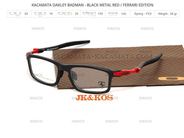 Oakley Badman Minus type Sport - Kacamata-kacamata.com abe4d99651