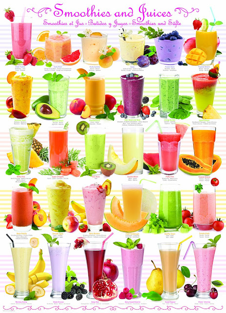 Smoothies and Juices Puzzle