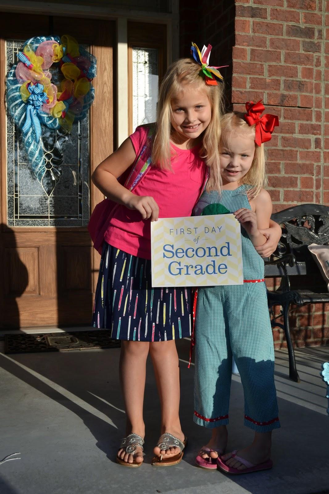 DSC 0441 001 - First Day Of School Outfit Kindergarten