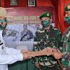 Danrem 141/Tp. Brigjend TNI Djashar Djamil. S.E M.M Menghadiri Acara penutupan TMMD Ke-109 TA. 2020
