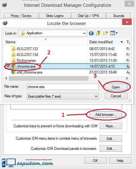 Cara Memasukan Idm Di Chrome : memasukan, chrome, Ampuh, Mengintegrasikan, (Internet, Download, Manager), Dengan, Google, Chrome, Sepukom