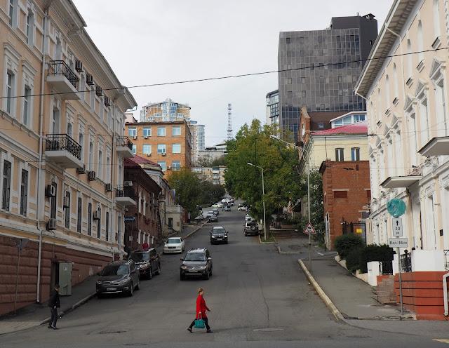 Улица во Владивостоке