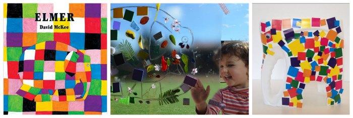 cuentos infantiles imprescindibles con actividades, juegos o manualidades collage ventana y elmer detergente