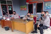 Kapolres Serang Monitor Pengamanan Rapat Pleno Rekapitulasi di PPK Ciruas