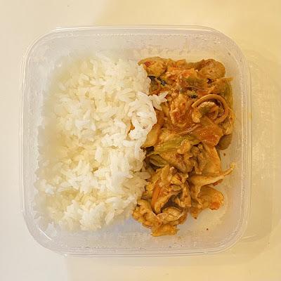 豚キムチ,お弁当