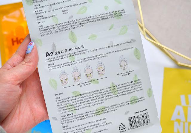 A by BOM Ultra Cool Leaf Mask