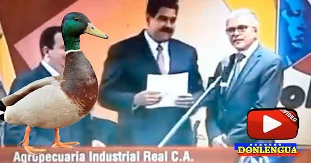 Quebró empresa que criaba Patos y a la que Maduro le entregó 5.500.000 dólares