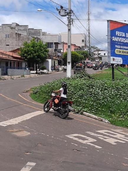 Trizidela do Vale: Idosa é atropelada por motociclista na faixa de pedestre.