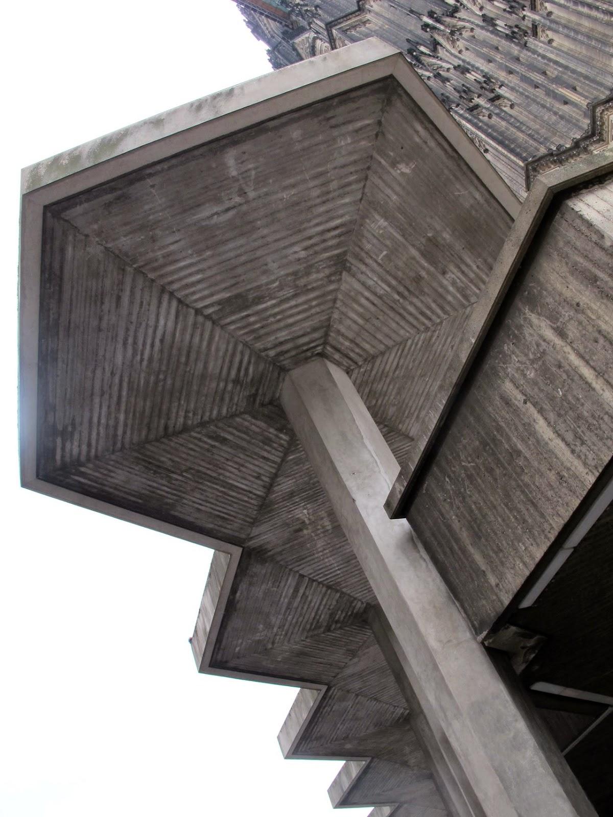 Brutalism,  post-war modernism, Cologne