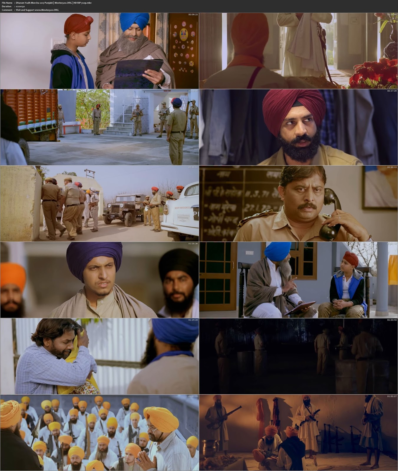 Dharam Yudh Morcha 2016 Punjabi Download HDRip 720p at movies500.info