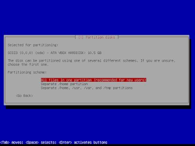 Cara Instal linux Debian 2018