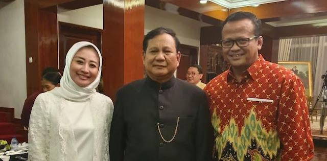 Penangkapan Edhy Prabowo Dan Istrinya Adalah Pukulan Telak Bagi Gerindra