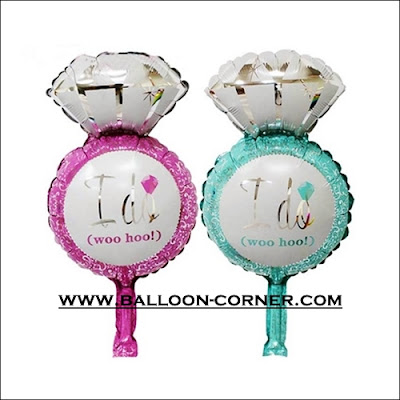 Balon Foil Cincin I DO Mini