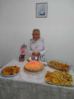Aniversário de Eurides Pereira - nossa homenagem!