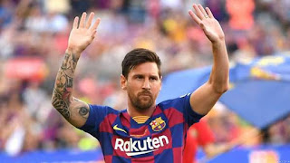 Barcelona Suffers Messi Injury Blow