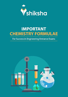 IMPORTANT CHEMISTRY FORMULAE FOR VARIOUS ENTRANCE EXAM