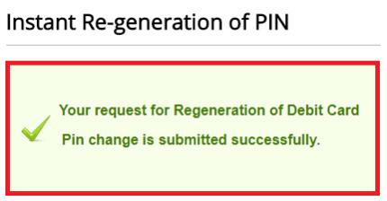 how to change kotak bank debit card pin online