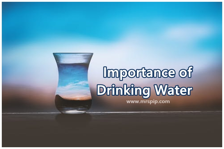 importance of drink water