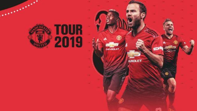 Jadwal Lengkap Pramusim Manchester United 2019