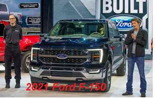 Ford unveils 2021 F-150 different design, strong performance