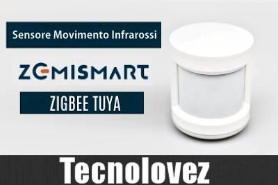 Sensore Movimento ad Infrarossi Zemismart