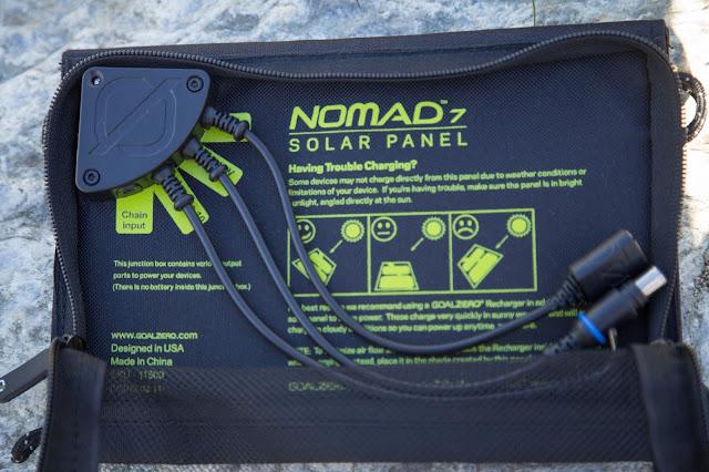 Goal-Zero Solar-Ladegerät venture-30 nomad-7 solar-charging 06