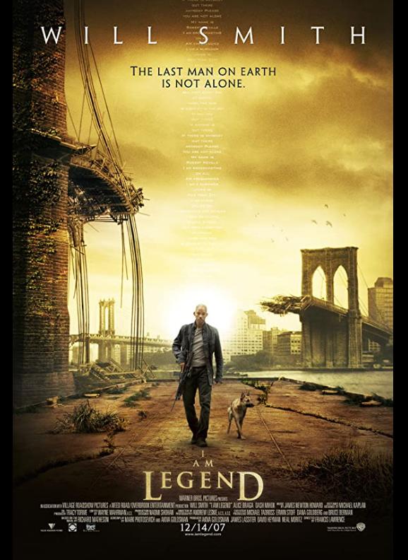 I Am Legend 2007 TC x264 720p Esub BluRay Dual Audio English Hindi GOPI SAHI