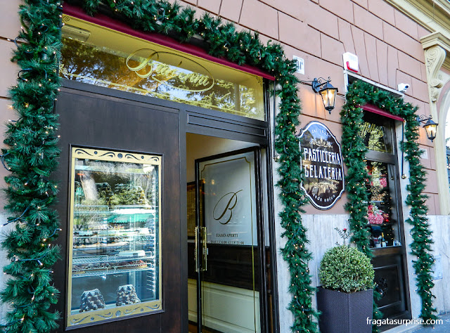 Pasticceria Barberini, confeitaria do bairro do Testaccio, Roma