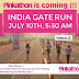 Pinkathon Promo Run with Milind Soman at india gate 10th july 5:30 Am