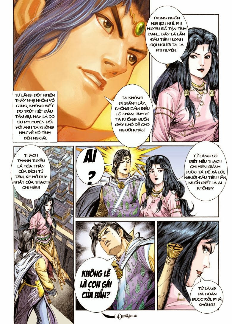 Đại Đường Song Long Truyện chap 150 - Trang 4