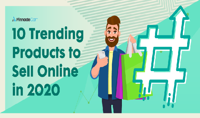 10 Trending Products to Sell Online in 2020 #infographic